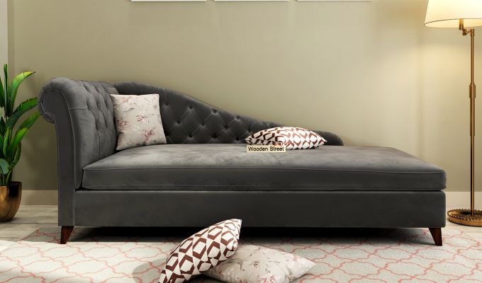 Begonia Chaise Lounge (Graphite Grey)-1