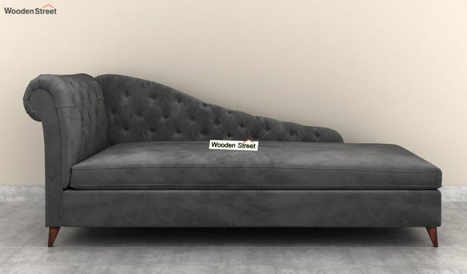 Begonia Chaise Lounge (Graphite Grey)-3