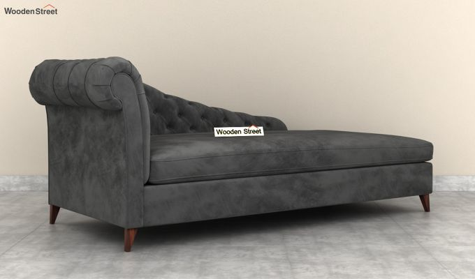 Begonia Chaise Lounge (Graphite Grey)-4