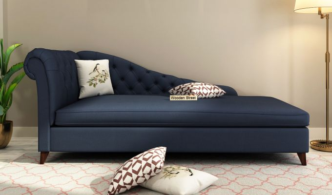 Begonia Chaise Lounge (Indigo Ink)-1