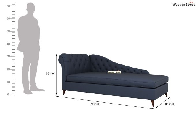Begonia Chaise Lounge (Indigo Ink)-5