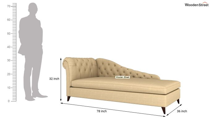 Begonia Chaise Lounge (Irish Cream)-5