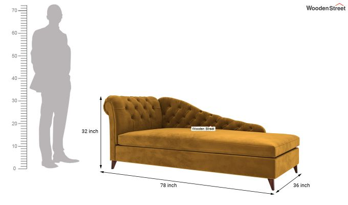 Begonia Chaise Lounge (Chestnut Brown)-5