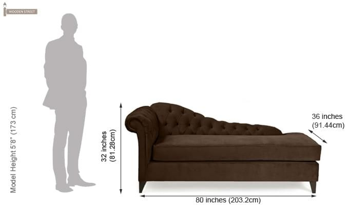 Begonia Chaise Lounge (Saddle Brown)-2