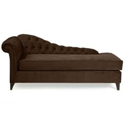 Begonia Chaise Lounge (Saddle Brown)