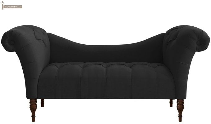 Bella Chaise Lounge (Black)-2