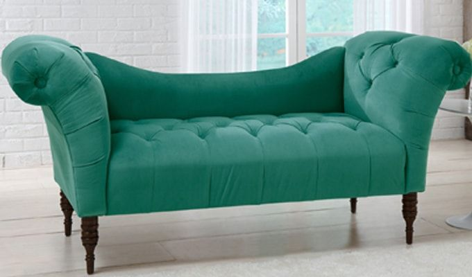 Bella Chaise Lounge (Green)-1