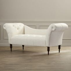 Bella Chaise Lounge (Whisper White)