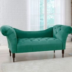 Bella Chaise Lounge (Green)