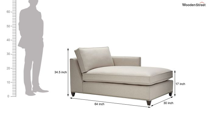 Canto Chaise Lounge (Ivory Nude)-5