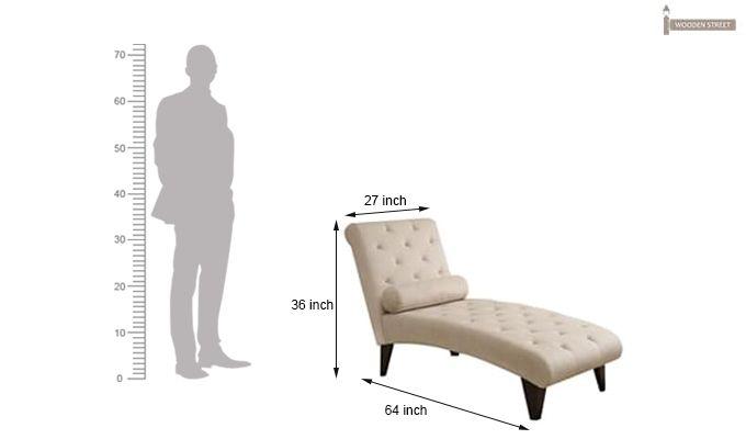 Columbine Chaise Lounge (Corn Silk)-2
