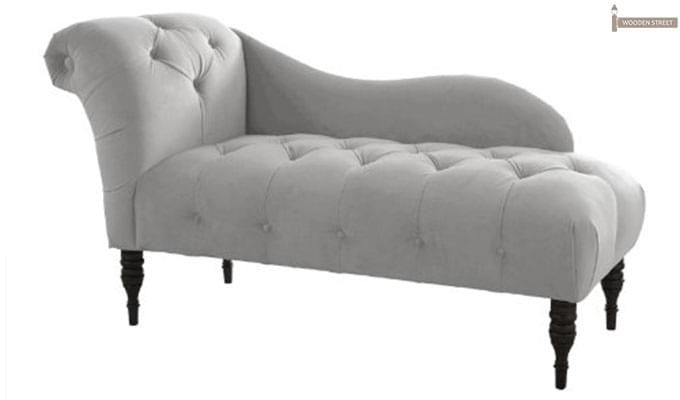 Crocus Chaise Lounge (Light Grey)-1