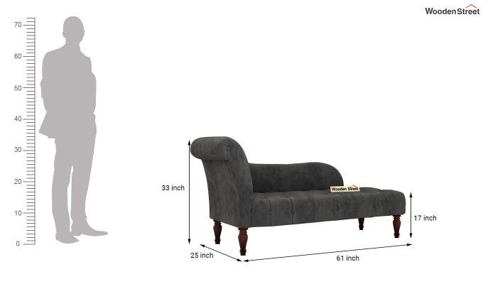 Crocus Chaise Lounge (Graphite Grey)-5