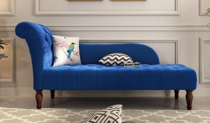 Crocus Chaise Lounge (Indigo Blue)-1