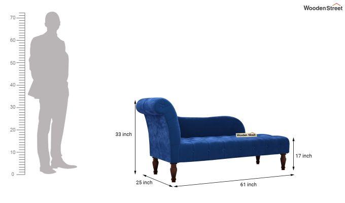 Crocus Chaise Lounge (Indigo Blue)-5