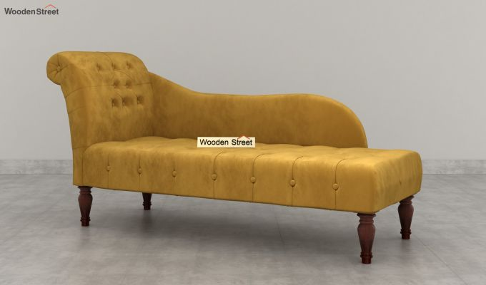 Crocus Chaise Lounge (Chestnut Brown)-4