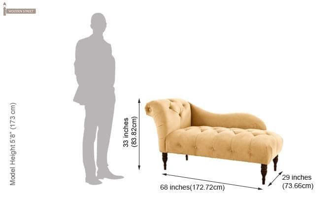Crocus Chaise Lounge (Sandy Brown)-2