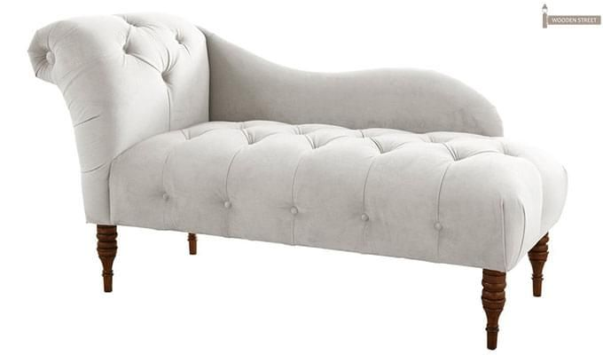 Crocus Chaise Lounge (White)-1