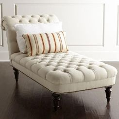 Diane Chaise Lounge (Cream)