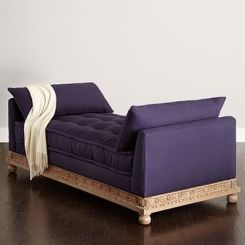 Efrem Chaise Lounge (Purple)
