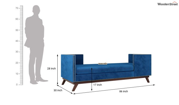 Estelle Chaise Lounge (Indigo Blue)-5