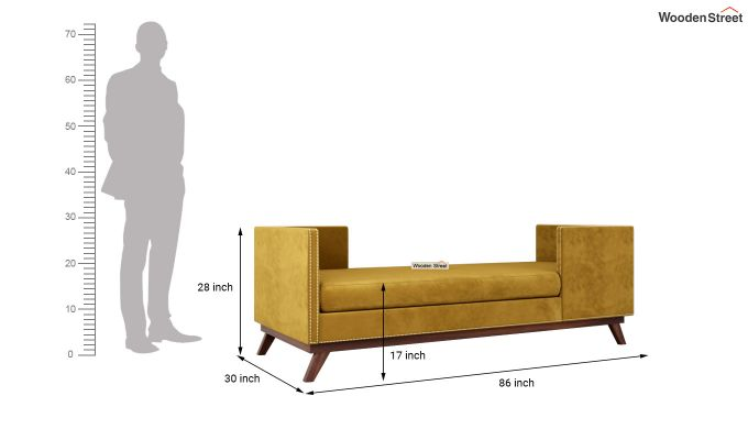 Estelle Chaise Lounge (Olive Gold)-5