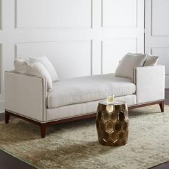 Estelle Chaise Lounge (Cream)