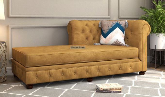 Henry Chaise Lounge (Chestnut Brown)-1