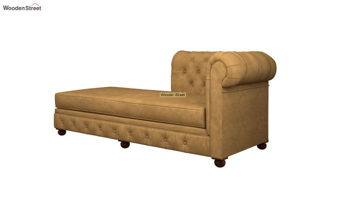 Henry Chaise Lounge (Chestnut Brown)-4