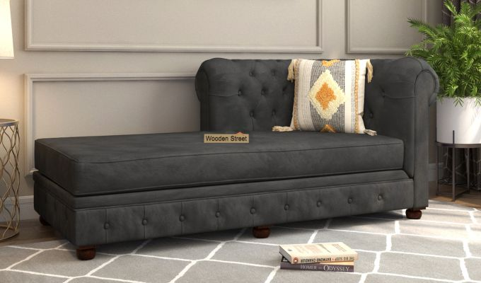 Henry Chaise Lounge (Graphite Grey)-1