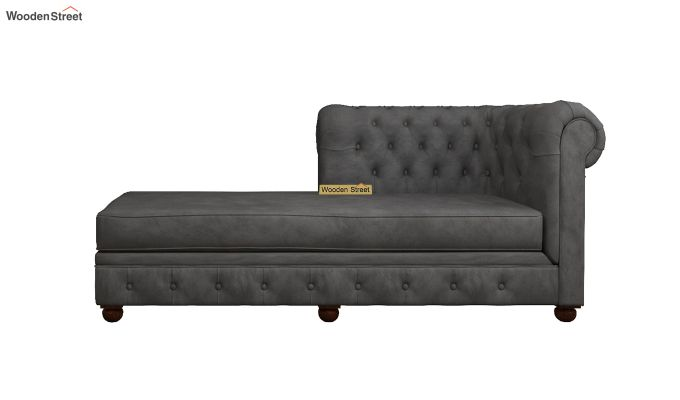 Henry Chaise Lounge (Graphite Grey)-3