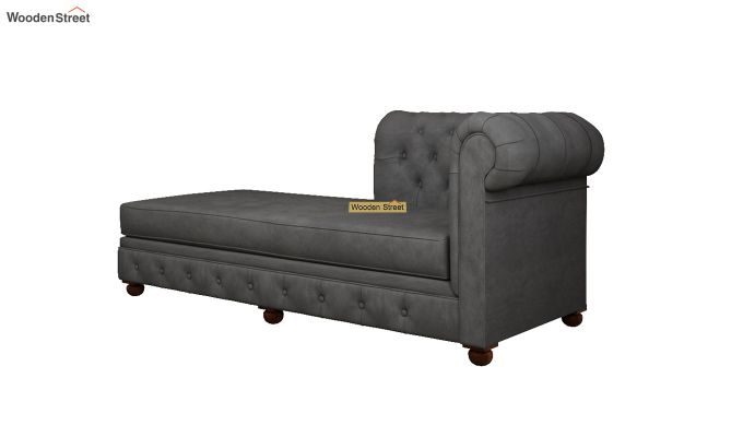Henry Chaise Lounge (Graphite Grey)-4