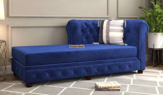Henry Chaise Lounge (Indigo Blue)-1