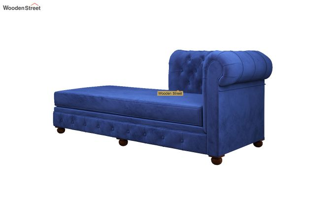 Henry Chaise Lounge (Indigo Blue)-4