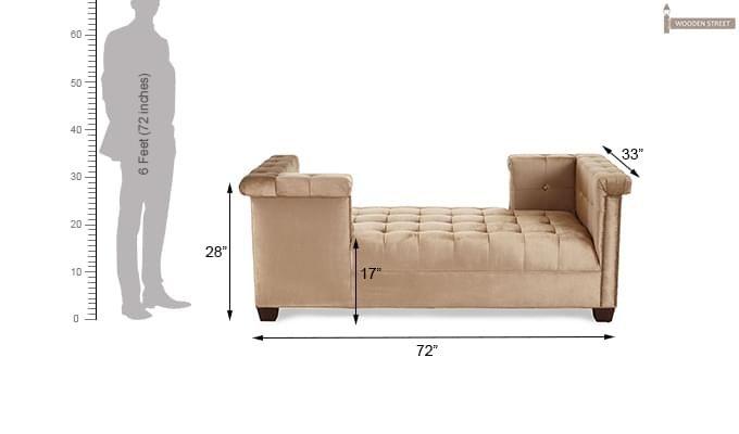 Sturges Chaise Lounge (Irish Cream)-3
