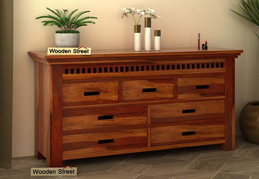 wooden chest of drawers latest designs