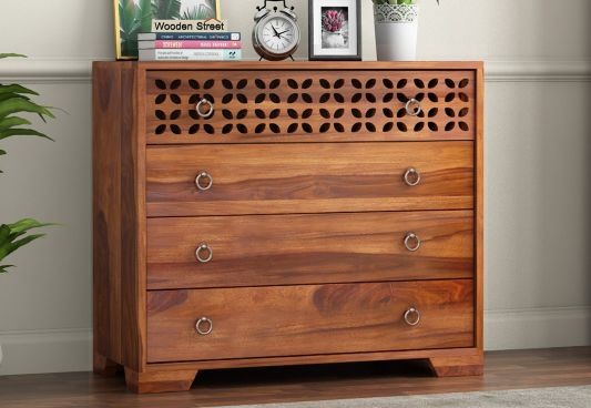 50 Best Wooden Chest Of Drawers Designs Online In India Wooden