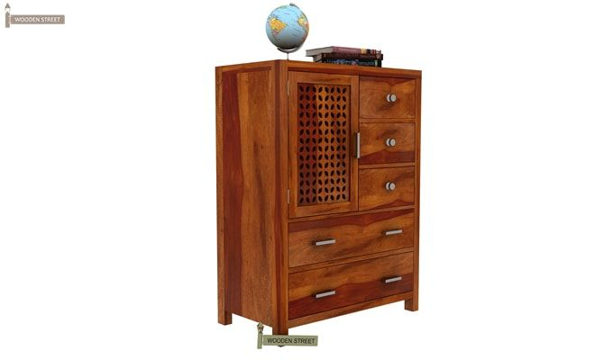 Ambien Chest of Drawers (Honey Finish)-3