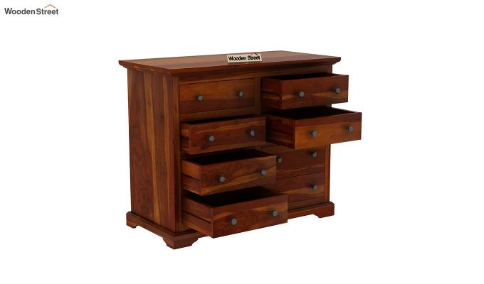 Angelo Chest of Drawers (Honey Finish)-5