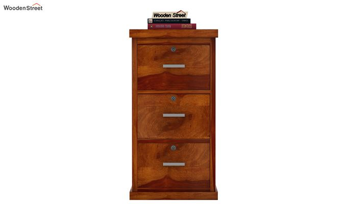 Austin Chest of Drawers (Honey Finish)-3