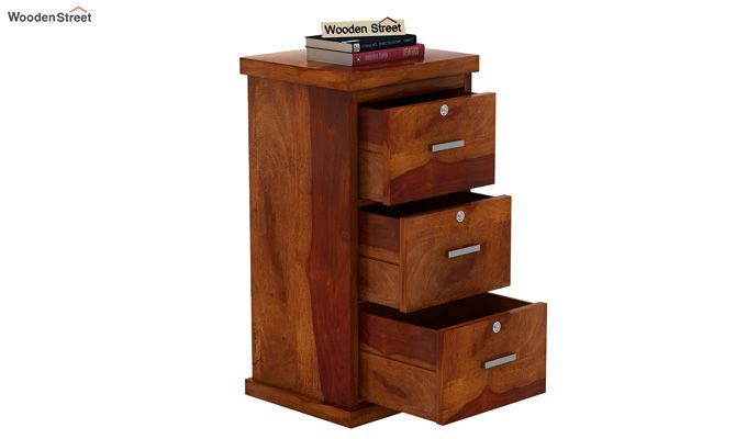 Austin Chest of Drawers (Honey Finish)-5