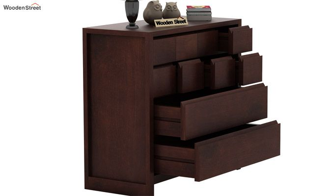 Barry Chest of Drawers (Walnut Finish)-5