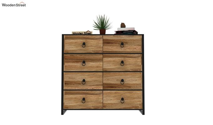 Bron Loft Chest of Drawers (Natural Finish)-3