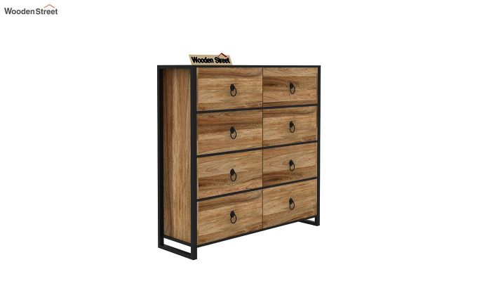 Bron Loft Chest of Drawers (Natural Finish)-4