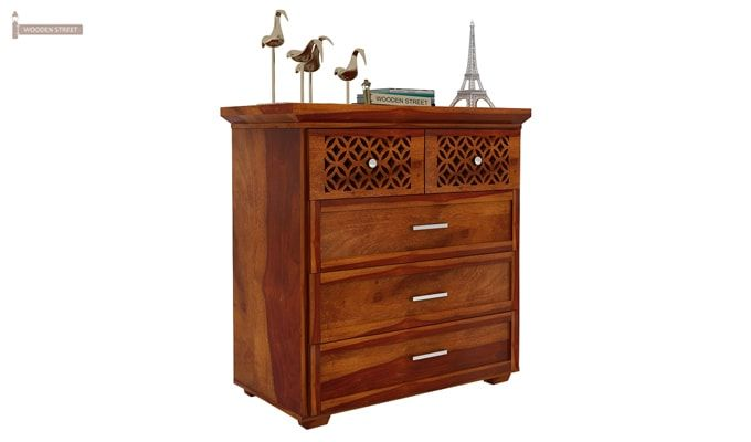 Cambrey Chest of Drawers (Honey Finish)-3