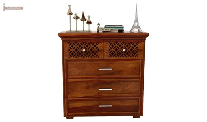 Cambrey Chest of Drawers (Honey Finish)-4