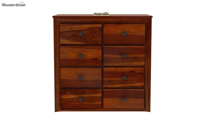 Carvel Chest of Drawers (Honey Finish)-4