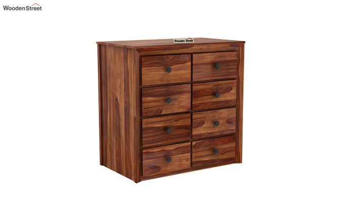 Carvel Chest of Drawers (Teak Finish)-3