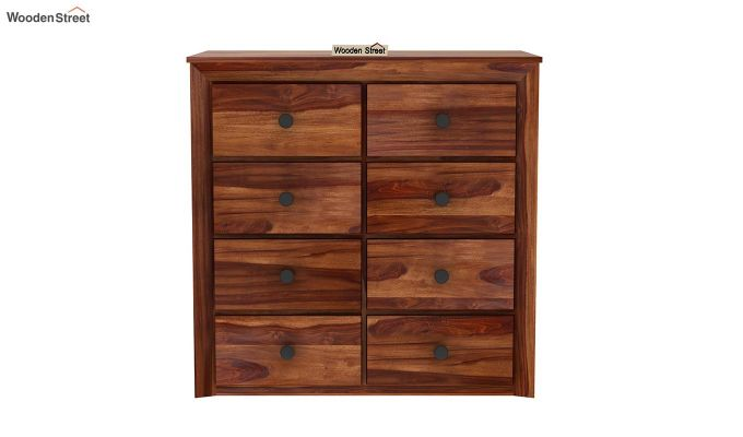 Carvel Chest of Drawers (Teak Finish)-4