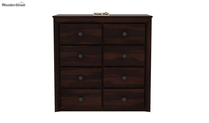Carvel Chest of Drawers (Walnut Finish)-4